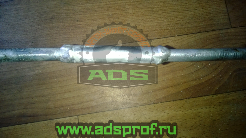 ремонт прогнившей алюминиевой трубки в системе автокондиционирования